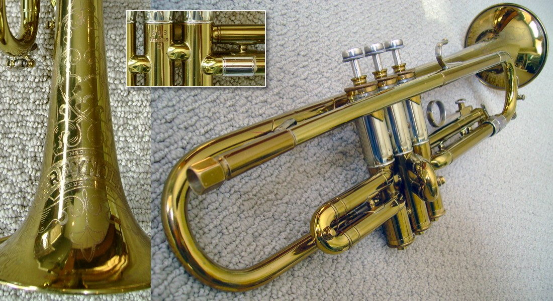 Reynolds (Professional, Sterling) Trumpets - Contempora Corner
